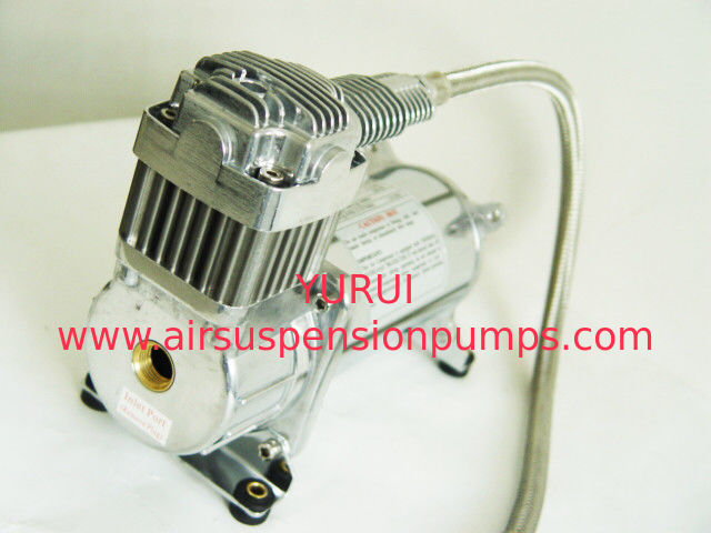 "1 / 4 '"" Air Ride Suspension Compressor  200psi Single 12v Compressor And Tank"