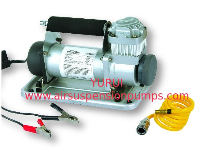 Heavy Duty Yurui 637 Car Air Compressor kit  With Hose & Battery Clip