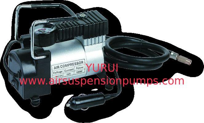 Yurui 633 12V 140psi Metal Air Compressor Tyre Inflator With Gauge