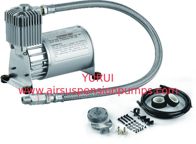 Chrom And Black Air Ride Suspension Car Compressor For Suspension Offboard System