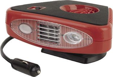 Κόκκινες και μαύρες φορητές θερμάστρες 2 αυτοκινήτων τριγώνων σε 1 χρήσιμο για Vhicle